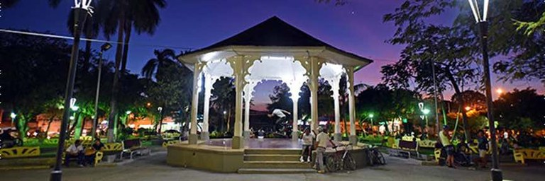 Liberia Cental Park at Night Banner.jpeg